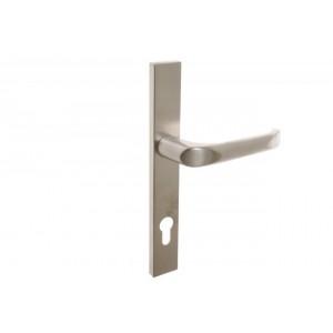Lauko durų rankena. Nulenkiama 02, L92 8 130 Satin-Nickel