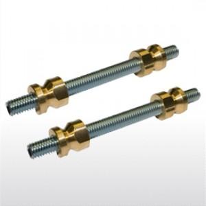 Lauko durų rankenų dvipusiai montavimo varžtai 95mm. GreenteQ kodas 2.3083