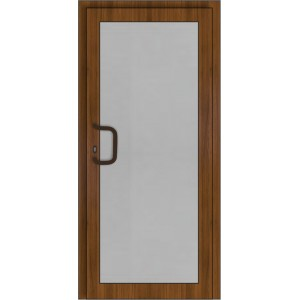 PVC Durys Therm Light Golde Oak/White