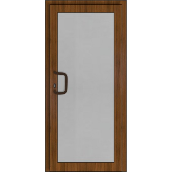 PVC Durys Therm Light Golde Oak/White - 520.66eur. PVC lauko durys THERM LIGHT, www.doorshop.lt