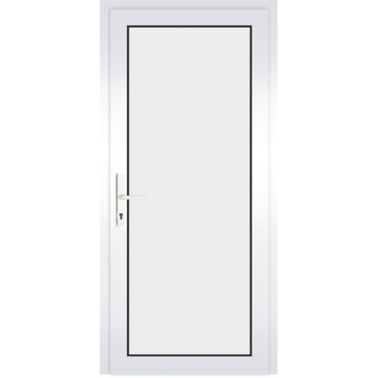 PVC Durys Therm Light White - 388.43eur. PVC lauko durys THERM LIGHT, www.doorshop.lt