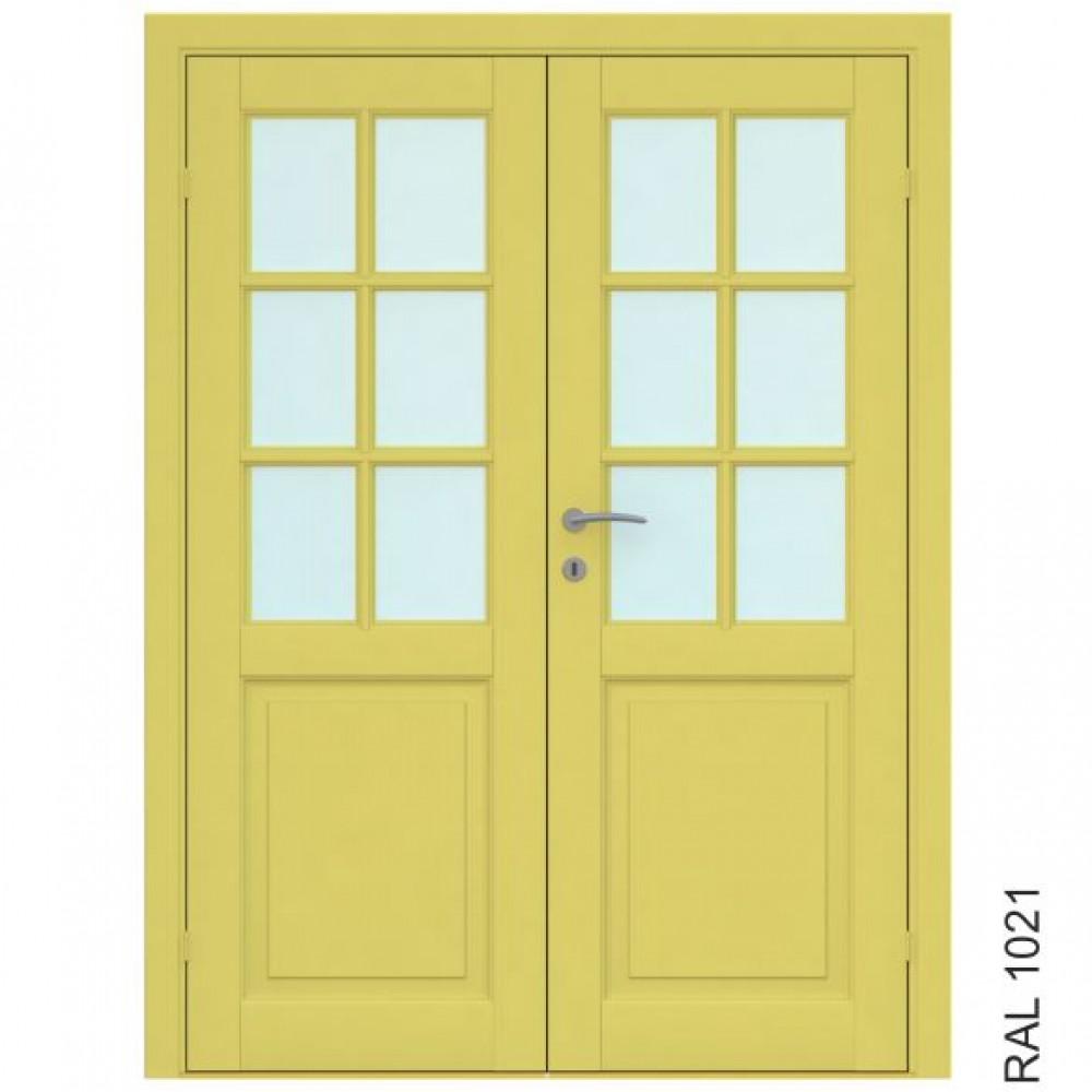 Finland Double, Skandinaviško stiliaus durys