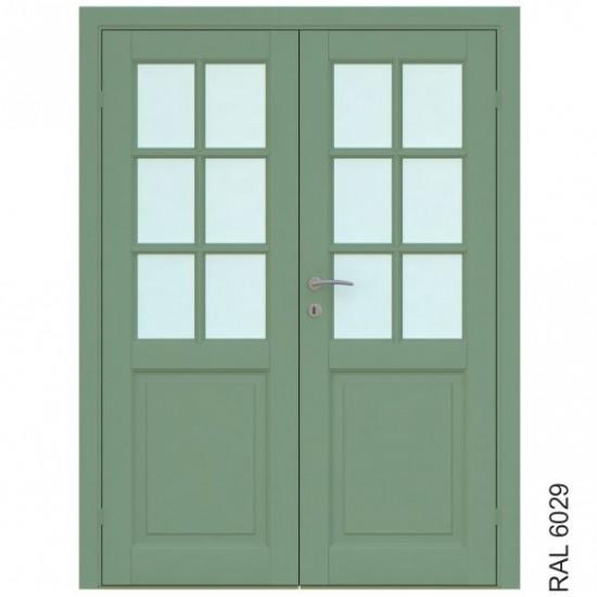 Finland Double - 454.55eur. Skandinaviško tipo dviverės durys, www.doorshop.lt