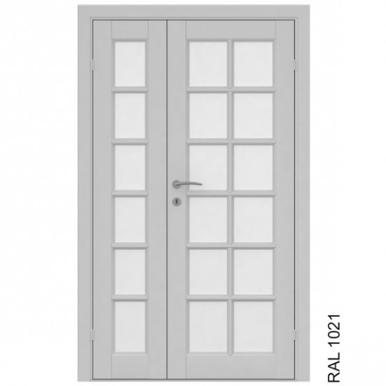 Island Double - 454.55eur. Skandinaviško tipo dviverės durys, www.doorshop.lt