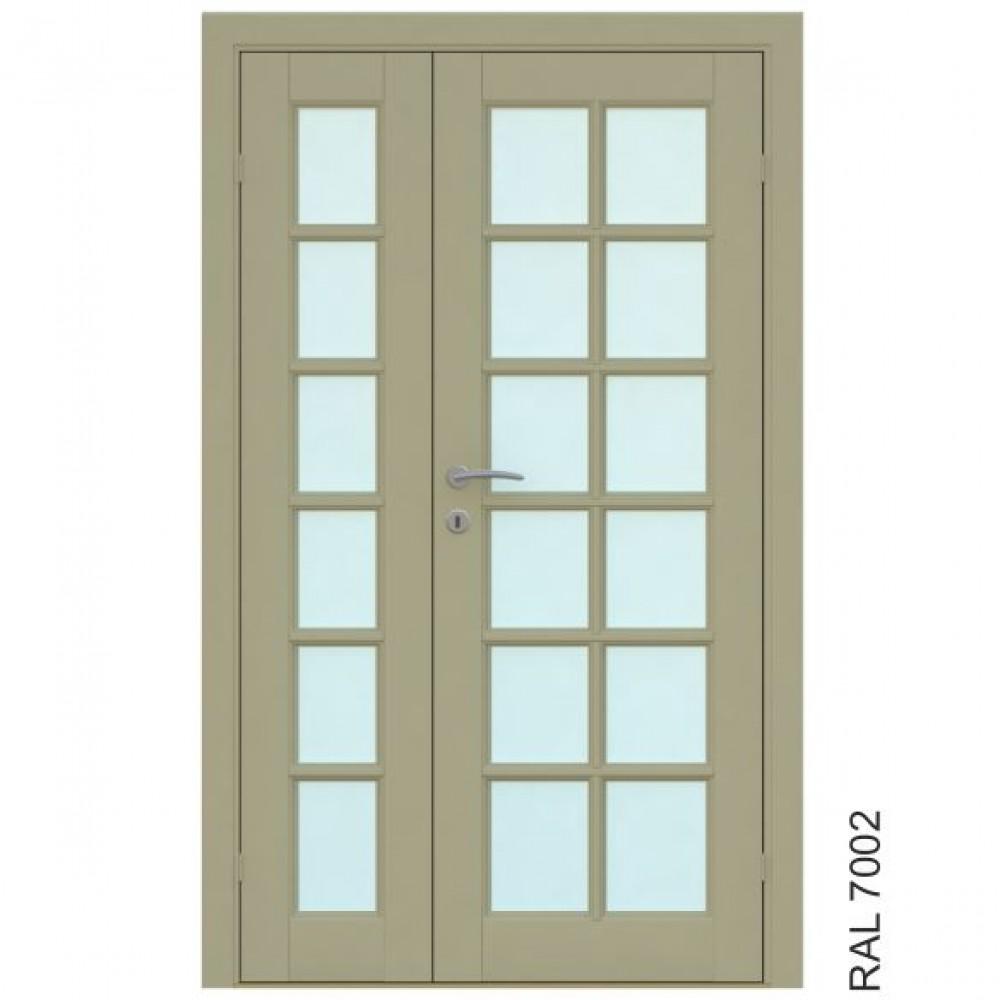 Island Double, Skandinaviško stiliaus durys