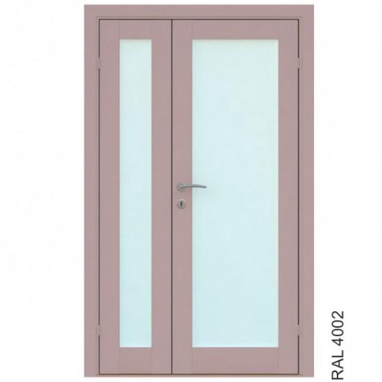 Trend 1 Double - 379.34eur. Skandinaviško tipo dviverės durys, www.doorshop.lt
