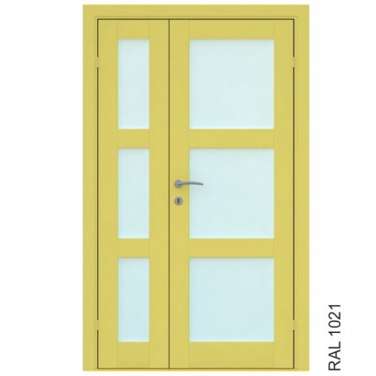 Trend 3 Double - 379.34eur. Vidaus durys, www.doorshop.lt
