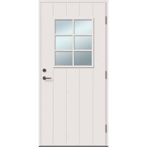ALEXIA 6R su stiklu - dažytos lauko durys