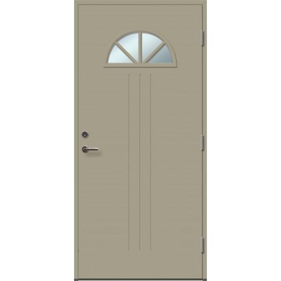 ANGELIA 4RK su stiklu - dažytos lauko durys - 354.55eur. Skydinės Exterior durys, www.doorshop.lt
