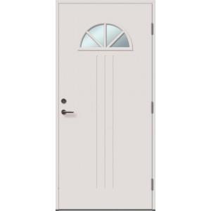 ANGELIA 4RK su stiklu - dažytos lauko durys