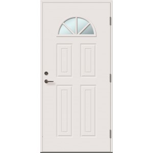 CRISTINE 4RK su stiklu - dažytos lauko durys
