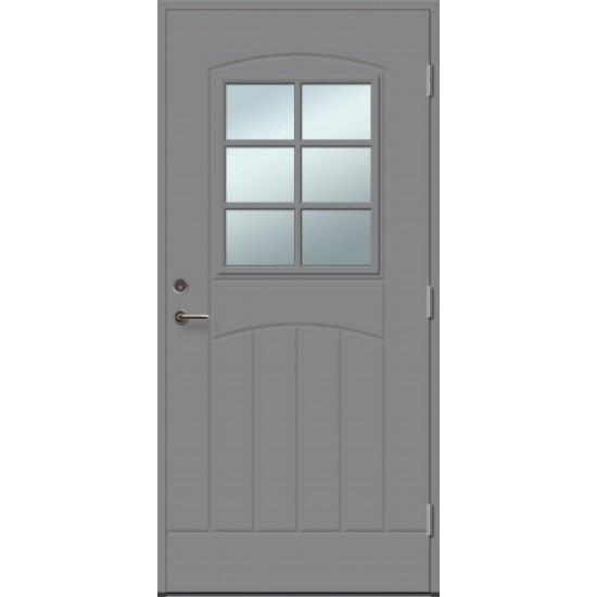 GRACIA 6R su stiklu - dažytos lauko durys - 354.55eur. Skydinės Exterior durys, www.doorshop.lt