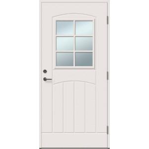 GRACIA 6R su stiklu - dažytos lauko durys