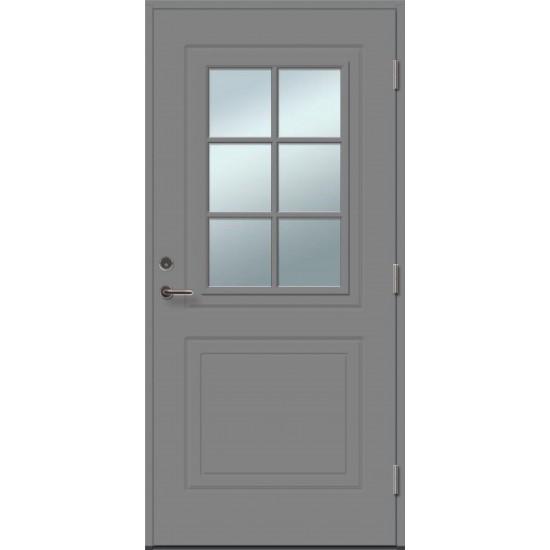 SOFIA 6R su stiklu - dažytos lauko durys - 354.55eur. Skydinės Exterior durys, www.doorshop.lt