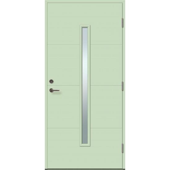 STORO 1R su stiklu - dažytos lauko durys - 354.55eur. Skydinės Exterior durys, www.doorshop.lt