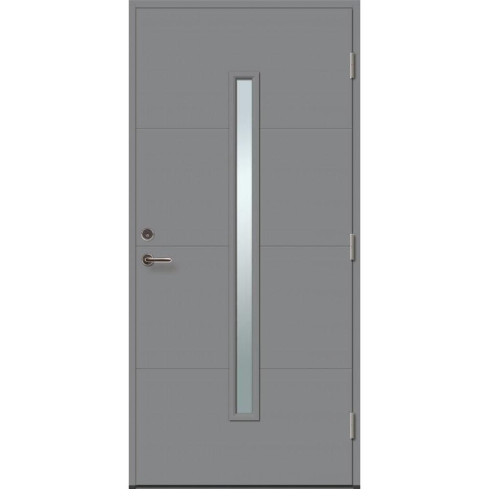 tamsiai pilkos spalvos durys, Durų varčia 62mm storio
