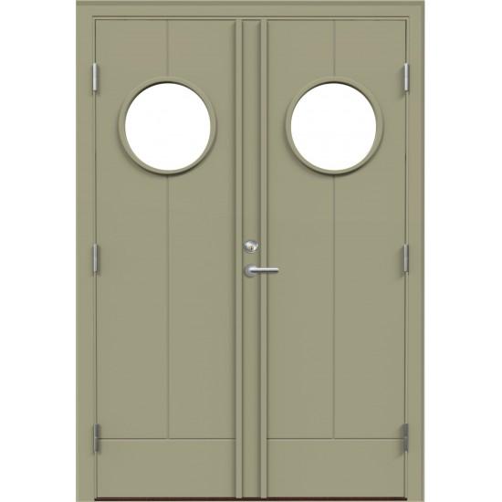 VMT G9 Double - 760.33eur. Skydinės Exterior durys, www.doorshop.lt