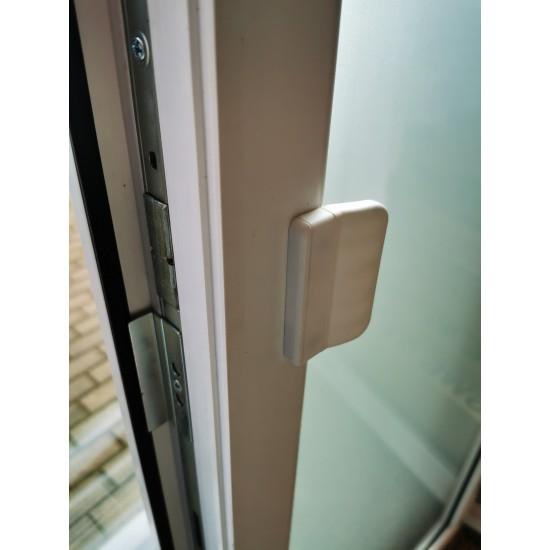 Balkono durų rankenėlė Balta - 2.48eur. Langų rankenos ir fiksatoriai, www.doorshop.lt