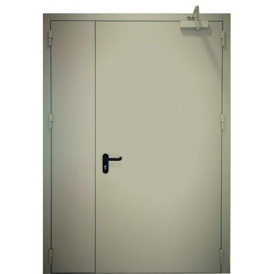 "METALINĖS DVIVĖRĖS LAUKO DURYS ""PROTECTUS""  www.doorshop.lt"