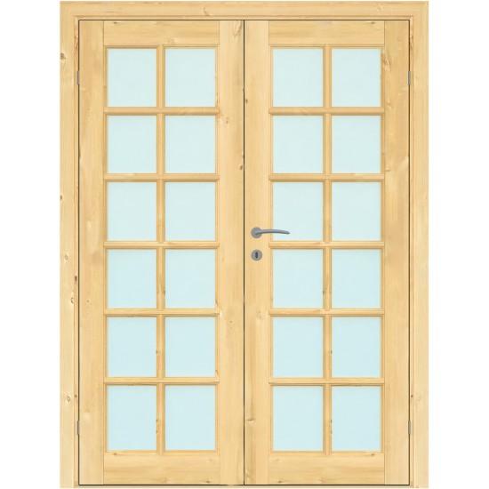 Island Pine Double - 329.75eur. Skandinaviško tipo dviverės durys, www.doorshop.lt