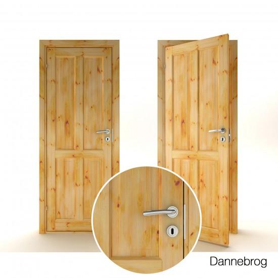 Dannebrog Pine - 169.42eur. Skandinaviško tipo, www.doorshop.lt