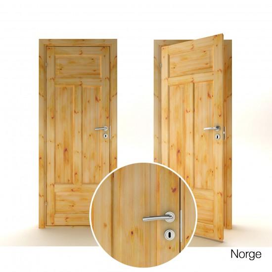Norge Pušinės, Pušinės durys