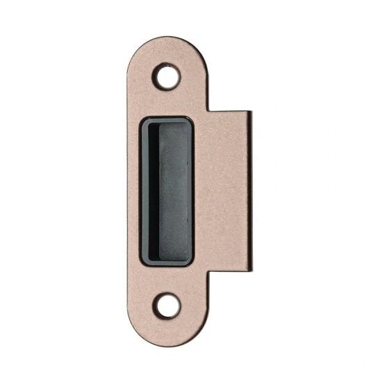 Plokštelė EASY-MATIC EVO Ruda, lygi - 1.65eur. AGB Spynos, www.doorshop.lt