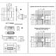 Plokštelė EASY-MATIC EVO ZNE, lygi - 1.65eur. AGB Spynos, www.doorshop.lt