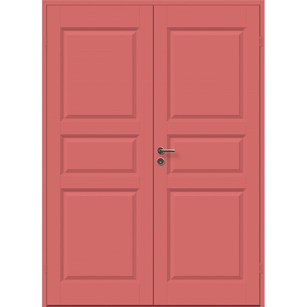 raudonos spalvos durys CASPIAN, modernaus dizaino