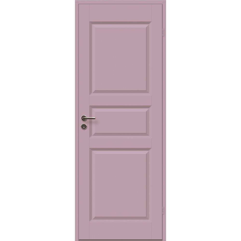 violetinės spalvos durys CASPIAN, su rankena