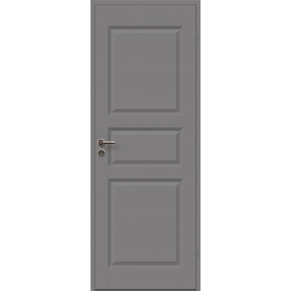 tamsiai pilkos spalvos durys CASPIAN, skirtos biurams