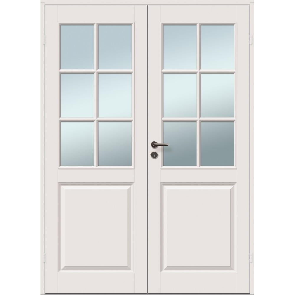 smėlios spalvos durys CASPIAN, su stiklu