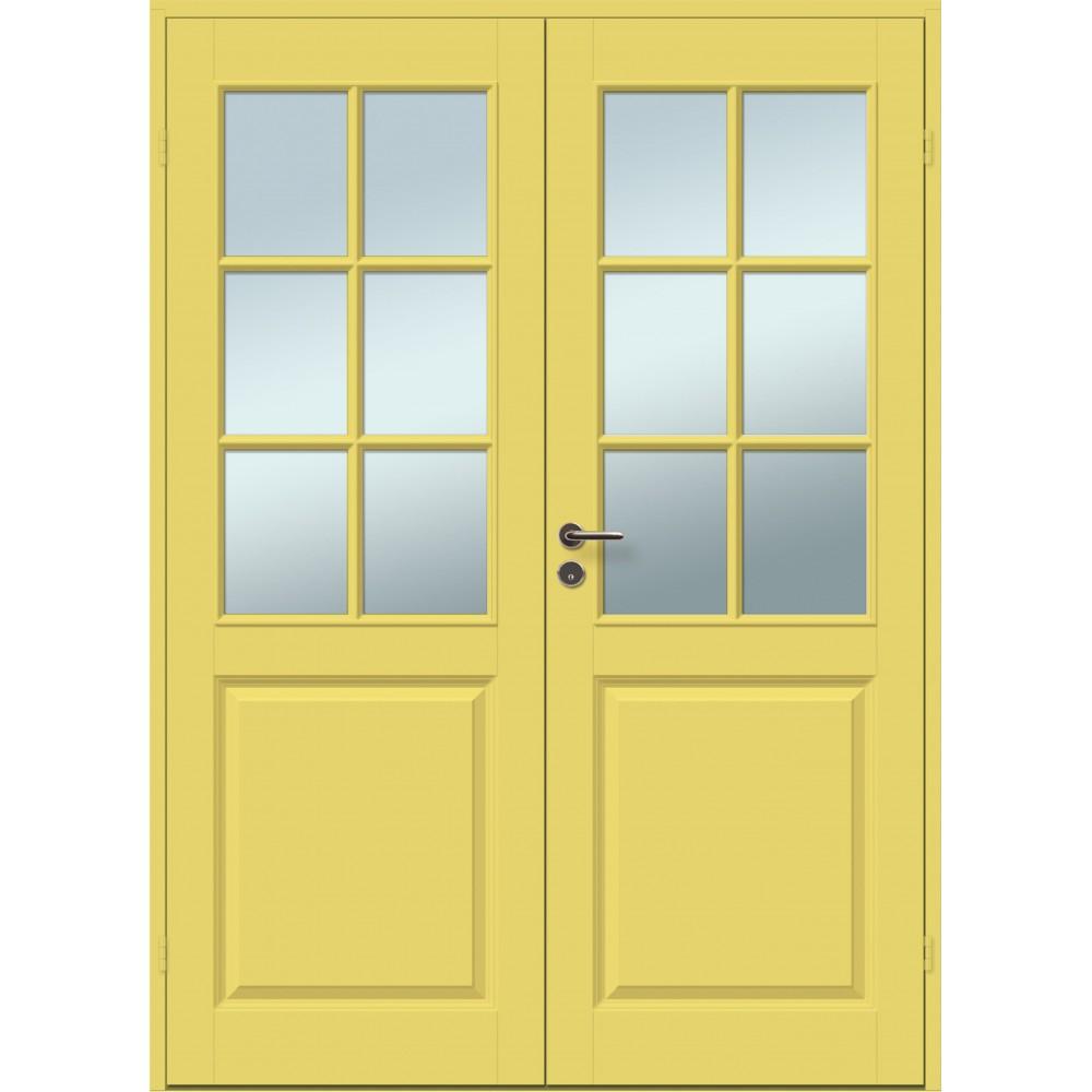 geltonos spalvos durys CASPIAN, skirtos biurams