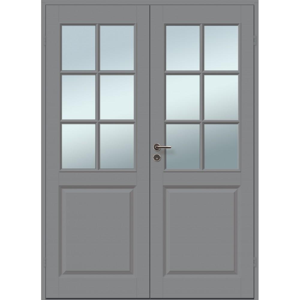 juodos spalvos durys CASPIAN, modernaus dizaino