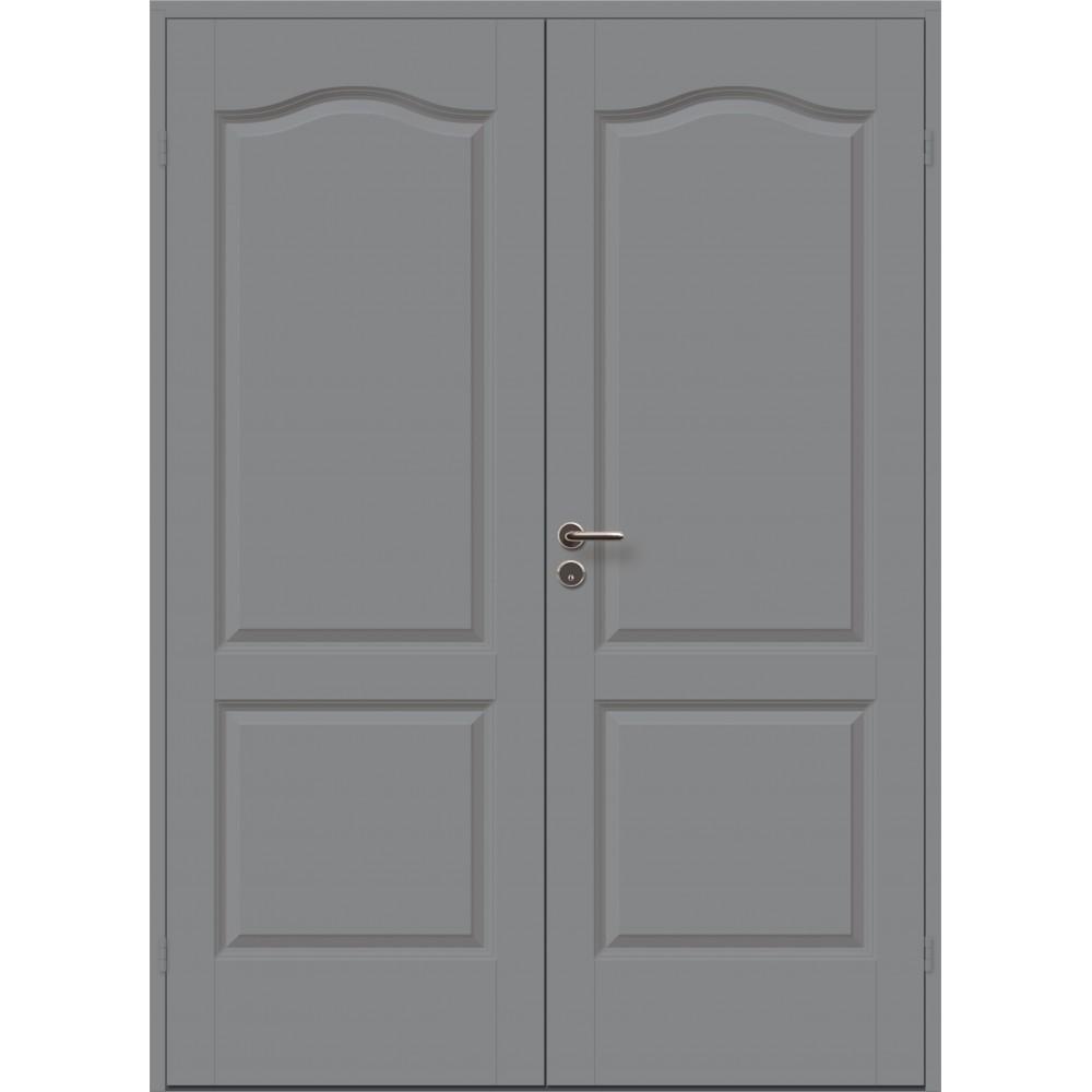 pilkos spalvos durys CASPIAN, medinės