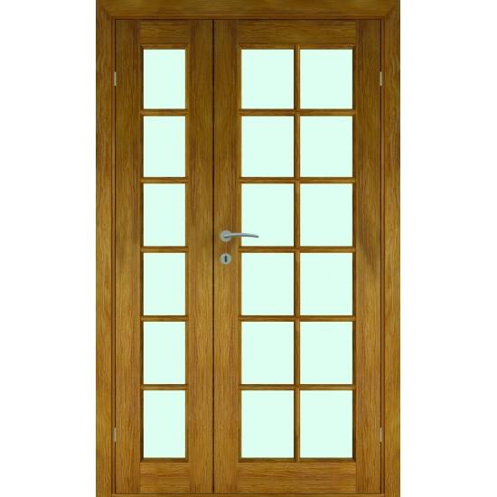 Island Oak Double - 722.31eur. Skandinaviško tipo dviverės durys, www.doorshop.lt