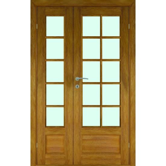 Norge Oak Double - 722.31eur. Skandinaviško tipo dviverės durys, www.doorshop.lt