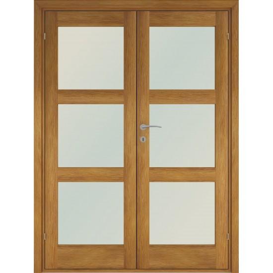 Trend3 Oak Double - 722.31eur. Skandinaviško tipo dviverės durys, www.doorshop.lt