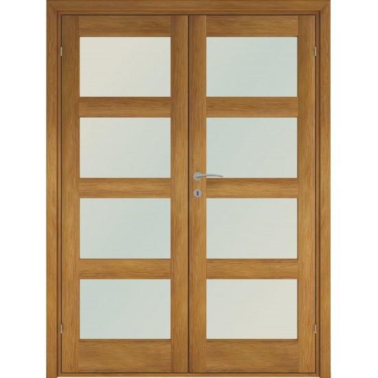 Trend4 Oak Double - 722.31eur. Skandinaviško tipo dviverės durys, www.doorshop.lt