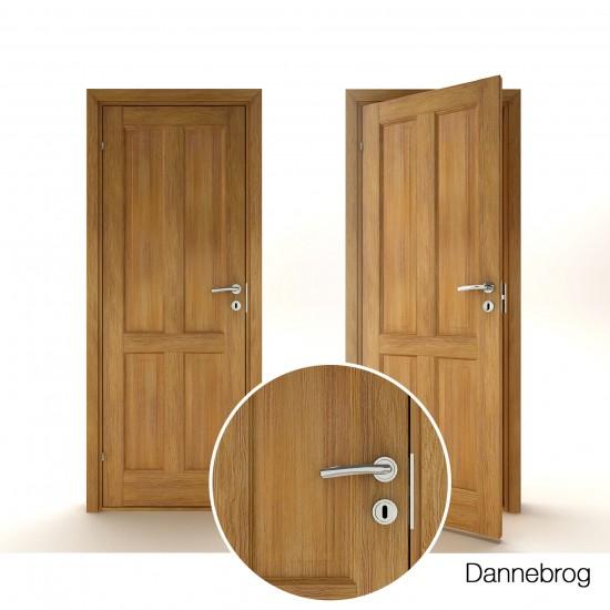 Dannebrog Massive Oak - 330.58eur. Skandinaviško tipo, www.doorshop.lt