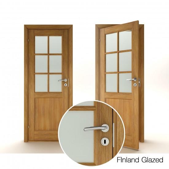 Finland Oak Glazed - 371.90eur. Skandinaviško tipo, www.doorshop.lt