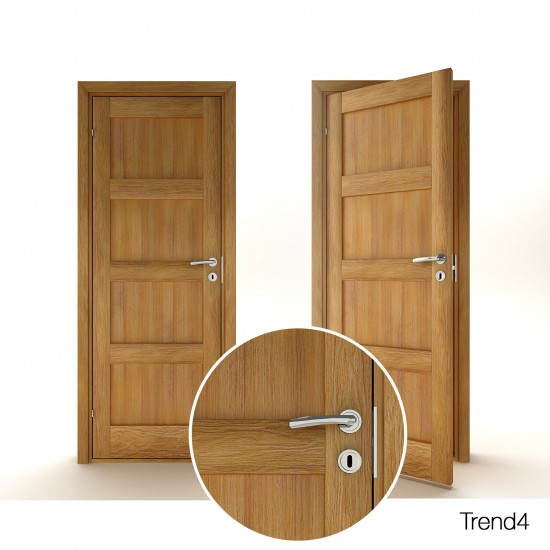 Trend 4 Oak - 289.26eur. Skandinaviško tipo, www.doorshop.lt